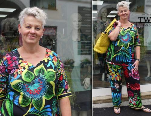 Garderobenwechsel im Kleiderschrank mit Heike & Sandra